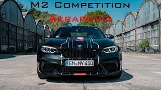 2019 BMW M2 Competition Akrapovic Exhaust: Pure Exhaust Sound