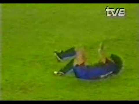 La lesió de Goikoetxea a Maradona (24/09/1983)