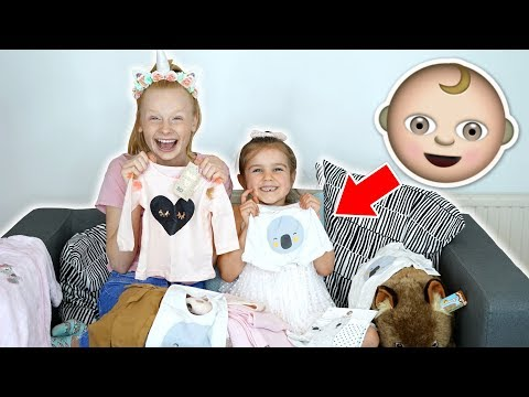 BABY CLOTHES SHOPPiNG CHALLENGE 👶 ft SABRE NORRiS & The Norris Nuts!