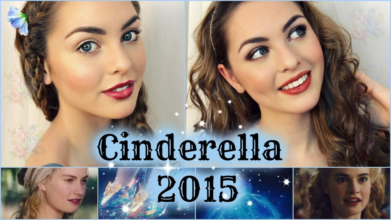 Lily James Cinderella Makeup Lily James as Cinderella