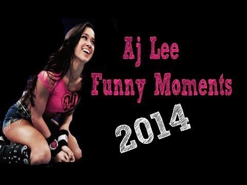 Aj Lee Funny Moments video