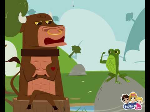 la rana que pretendia igualarse al buey - video yodibujo.es.mov