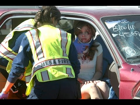 Red Mountain High School Mock Crash