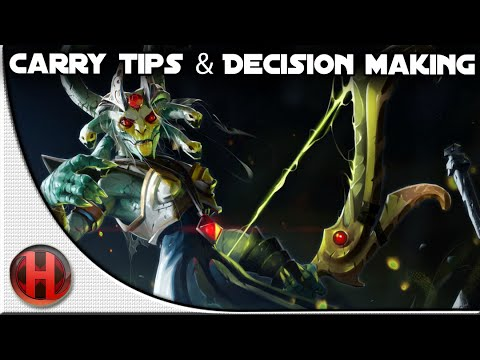 Dota 2 - Advanced Carry Tips and Decision Making Tutorial