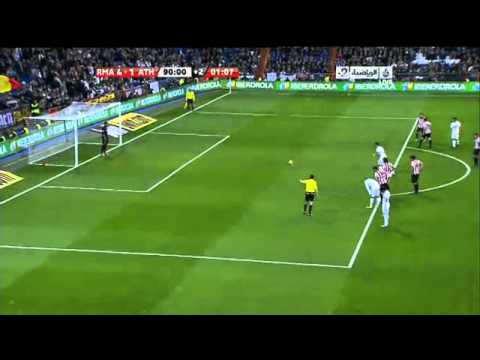 Real Madrid vs Athletic Bilbao 5 1 Gol Cristiano Ronaldo 5