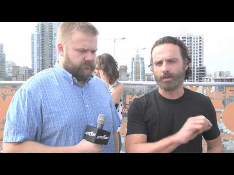 Skybound at the Fox Intl Breakfast with Andrew Lincoln & Norman Reedus