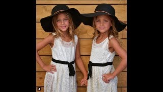 These Twin Sisters Have Grown Up To Be The Most Beautiful Twins In The World