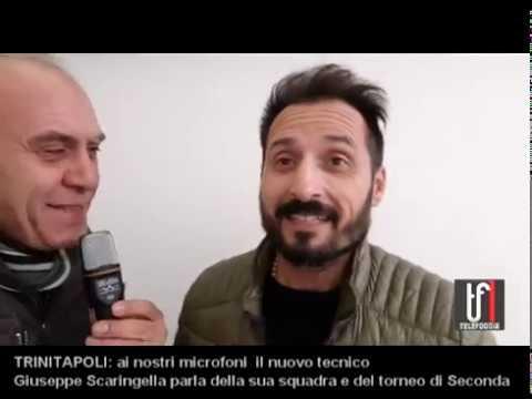 VIDEO TRINITAPOLI ECCO IL MISTER GIUSEPPE SCARINGELLA 29 11 19