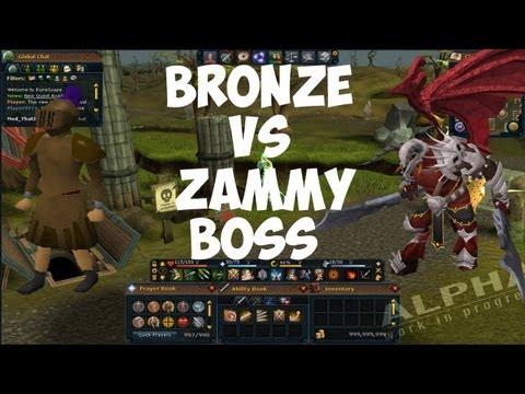 Can LinedFury solo Zammy in Bronze? Runescape Commentary 2013 Linedfury