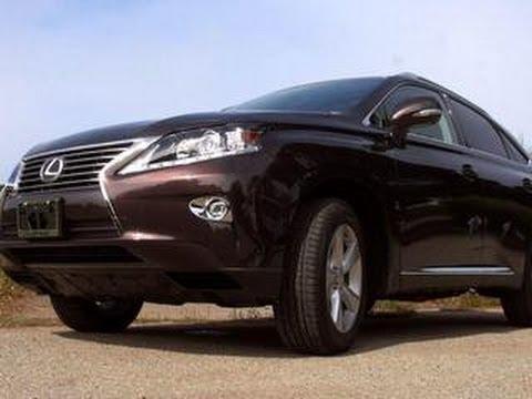 Lexus RX 350 sings a familiar tune