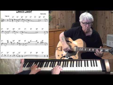 Lonnie's Lament - Jazz guitar & piano cover ( John Coltrane )