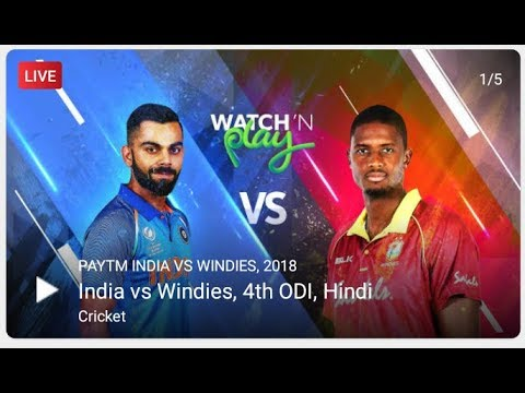 India vs West indies 4th odi match highlights Rohit sharma