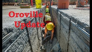 Oroville Update 20 Sept. 40 days to go...