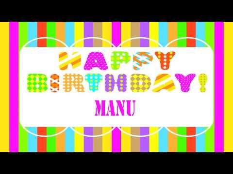 Manu   Wishes & Mensajes - Happy Birthday