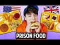 AMERICAN vs. BRITISH Prison Food