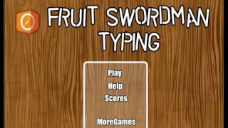 Fruit Swordman Typing - Y8 Games