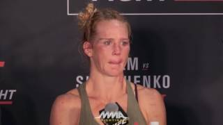 UFC on FOX 20: Holly Holm Breaks Down Her Loss