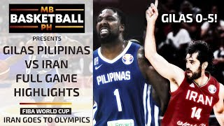 GILAS PILIPINAS VS IRAN FULL GAME HIGHLIGHTS | FIBA WORLD CUP 2019