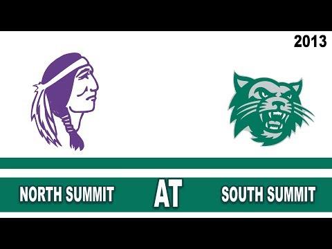 Football: North Summit High School @ South Summit High School Utah 10/11/13