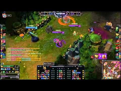 League of legends cassiopeia scripting/hacking