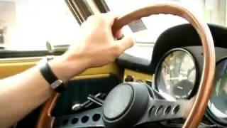 Autobianchi A111: a night ride in Milano