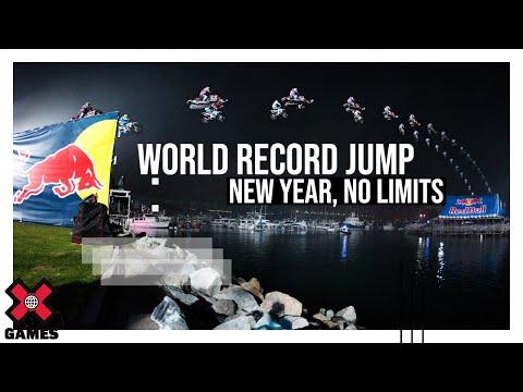 New Year No Limits: World Record Jump (Slow Motion)