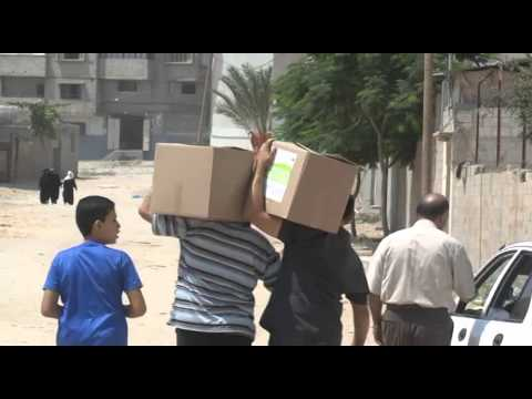 Muslim Aid Australia & Alimdaad Foundation working in GAZA 2014