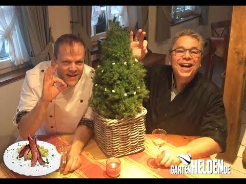 Schnelles Heiligabend Menu - GartenHELDEN.de Folge 159