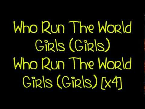 Beyoncé - Run The World (Girls) [Lyrics] HD