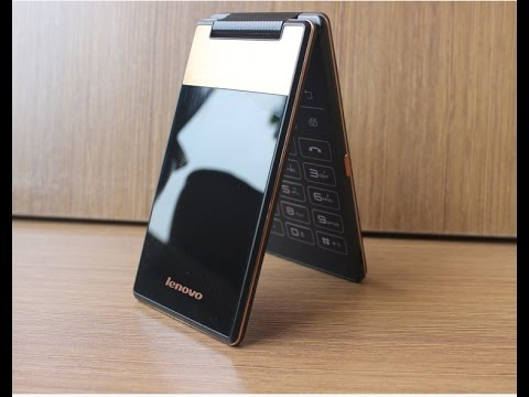 Lenovo A588T Yoga Style flip phone review in English by japanese-phones.com.ua