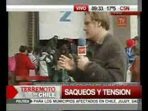 Terremoto en Chile video 14