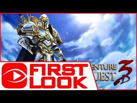 Adventure Quest 3D (AQ3D) - Gameplay First Look