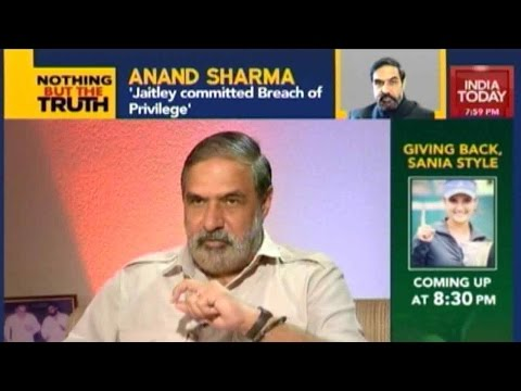 Nothing But The Truth: Exclusive Interview With Anand Sharma
