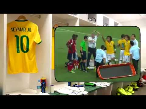 Watch How Zuniga injured Neymar  At Quarter Finals(Neymar Is Out From The World Cup)