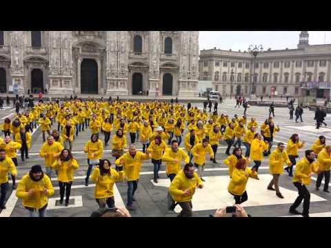 Flash Mob Metro Milano 15/01/2014
