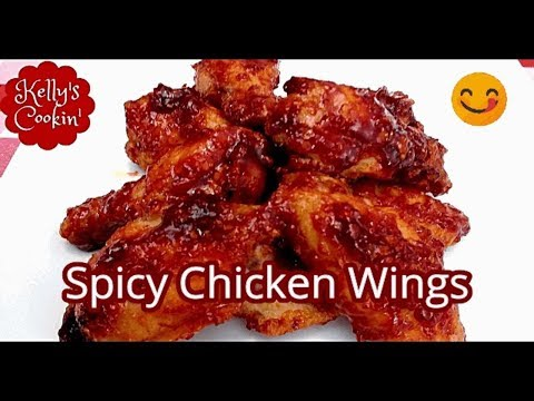 Spicy Chicken Wings Recipe Air Fryer-Cook's Essentials