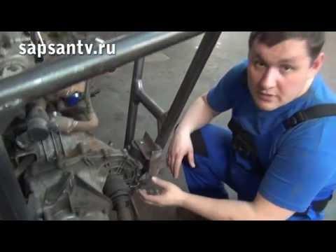 Багги своими руками: установили двигатель!