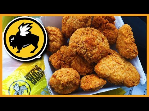 Chipotle BBQ Wings at Buffalo Wild Wings