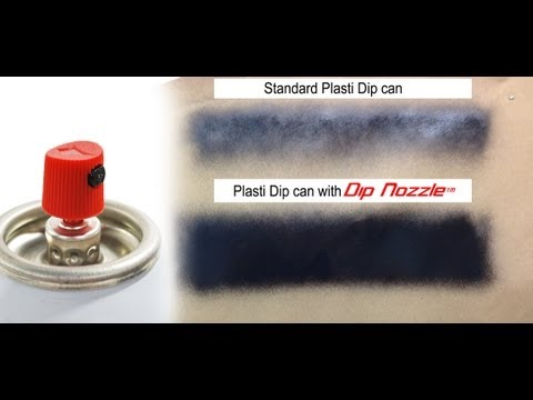 Make Plasti Dip work better  -  Dip Nozzle