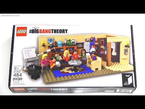 Built In 60 Seconds Lego Ideas Big Bang Theory 21302