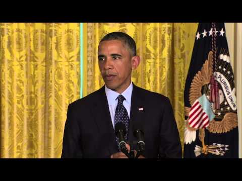 Watch President Obama Address IRS Scandal