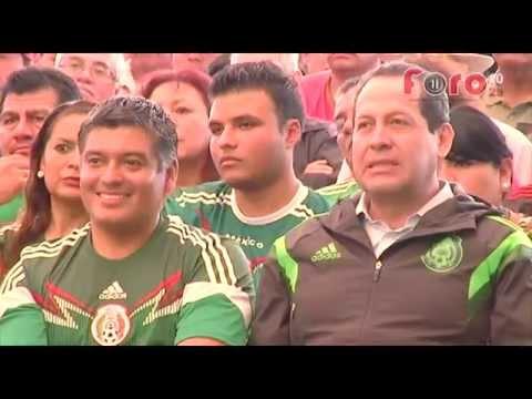 Fiesta de Futbol en Coacalco con Eruviel y David