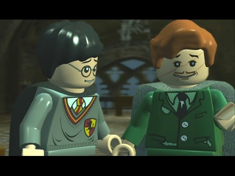 LEGO Harry Potter Years 1-4 Walkthrough Part 10 - Year 3 - 'The Shrieking Shack'