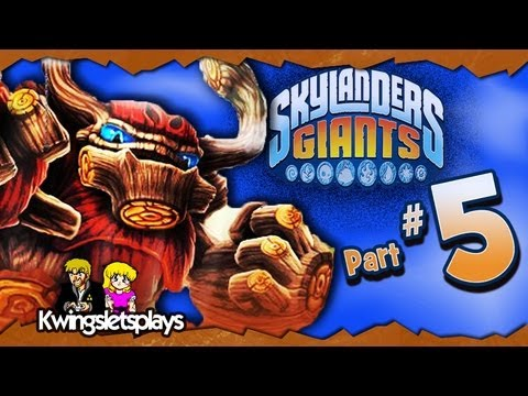 Skylanders Giants - Skylanders Giants Walkthrough Part 5 Cutthroat Skystones! (Wii U)