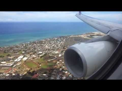 A330-200 Hawaiian airlines landing in Honolulu