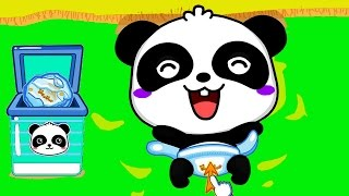 Baby Panda Care - best iPad Android game app for kids. Learn Baby Care