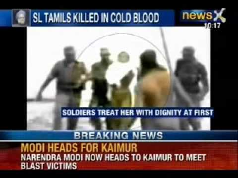 Isaipriya 'raped' and killed by Sri Lankan Army - NewsX