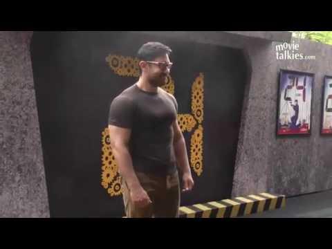 AAMIR KHAN's BODY BUILDING For DANGAL LEAKED VIDEO thumbnail