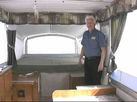 Sold 2005 Fleetwood Coleman Victory Popup Youtube