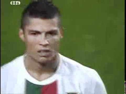 Cristiano Ronaldo disallowed goal (PORTUGAL VS SPAIN FRIENDLY MATCH)